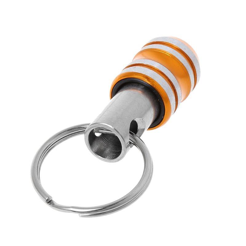 Community Climbing Equipment - Bithalter mit Schlüssering - orange